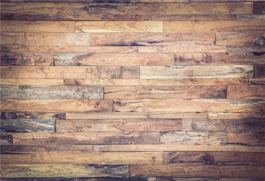 Vintage Wood Grain Brown Wooden Photo Backdrop Prop