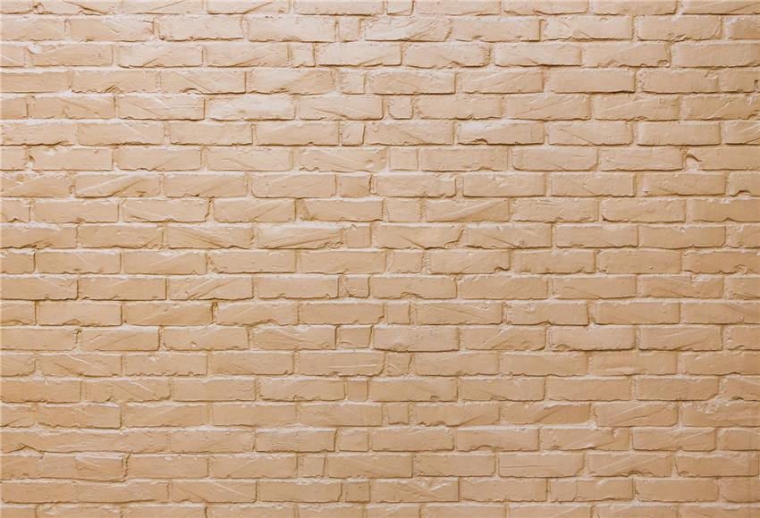 Champagne Brick Wall Backdrop for Photography Prop