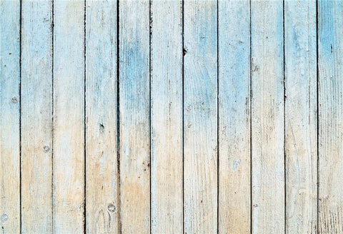 Blue and Beige Wood Wall Backdrop