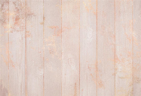 Wedding Rose Gold Wooden Backdrop for Studio Photography