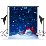 Snowflake Sliver Bell Chrismtas Photography Backdrop