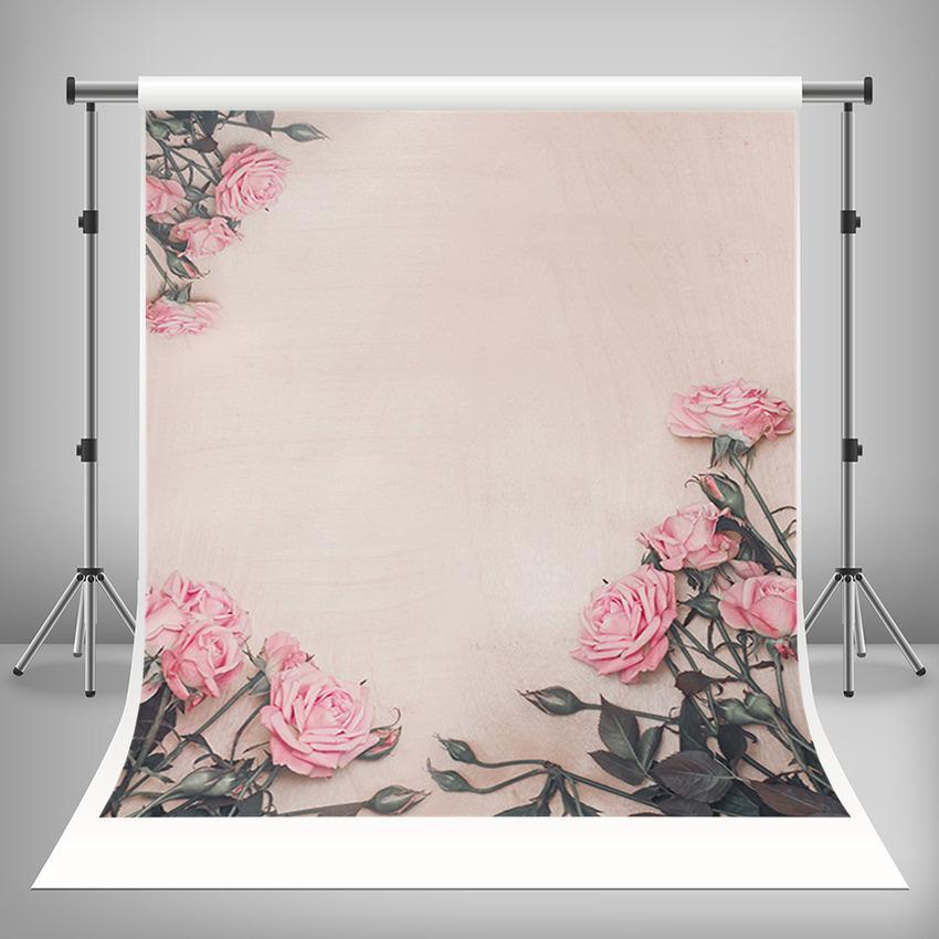 Beautiful Flowers Backdrop For Mother's Day Photography Backdrop