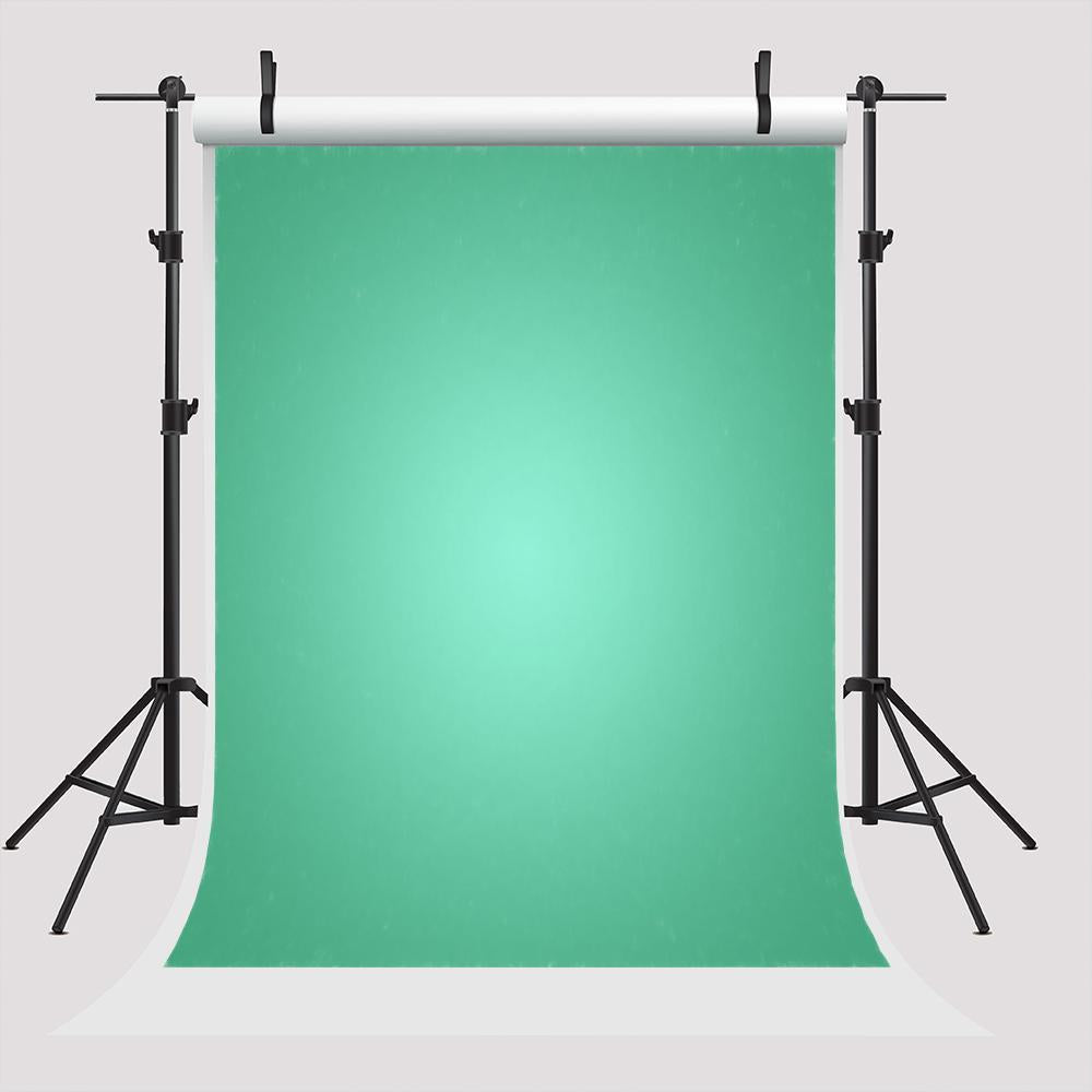 Turquoise Portrait Solid Abstract Backdrop for Photography