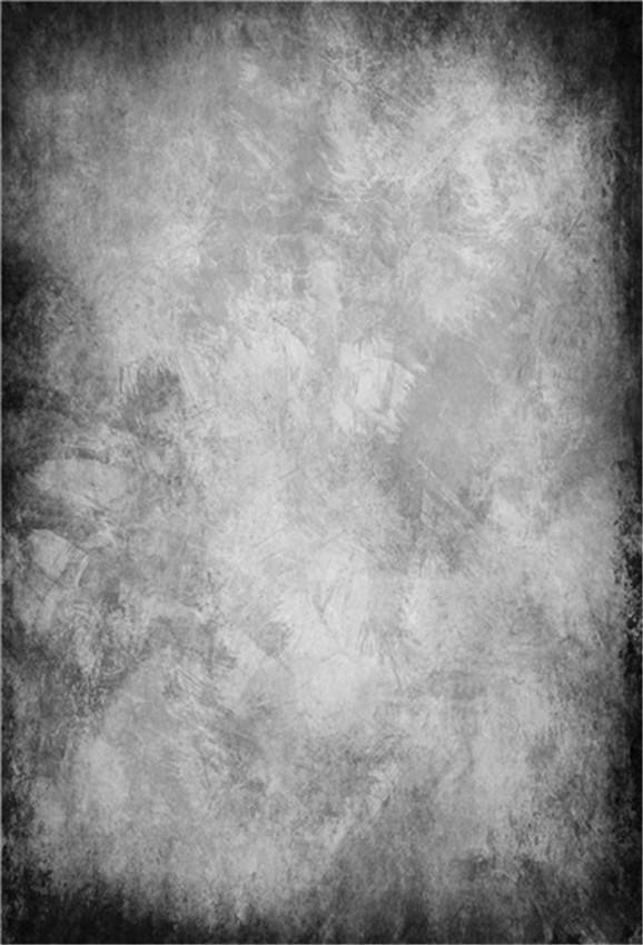 Black and Grey Texture Abstract Backdrop for Photo Studio Prop