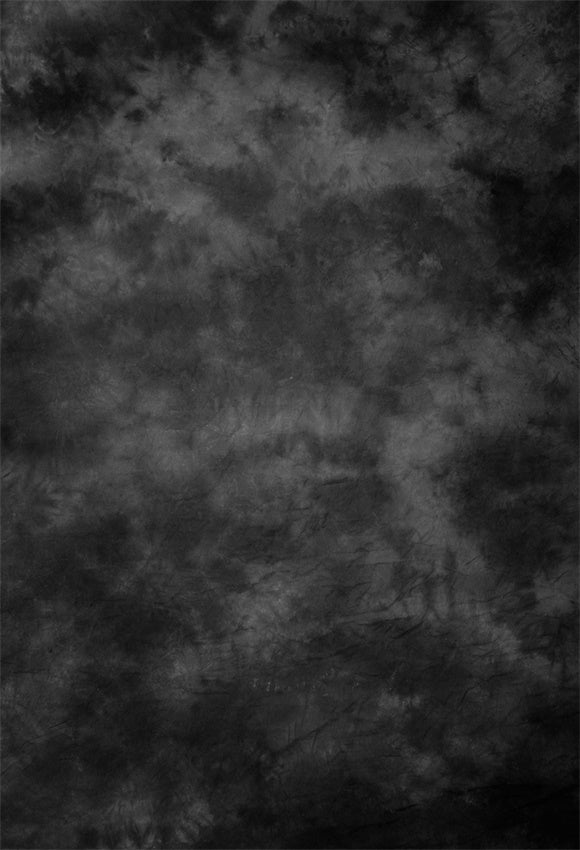 Black and Grey Mottled Abstract Backdrops for Studio