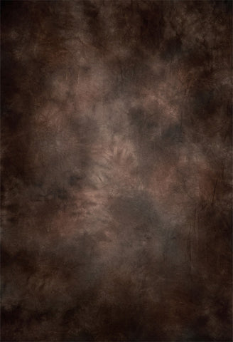 Brown Mottled Fine Abstract Backdrop for Portrait