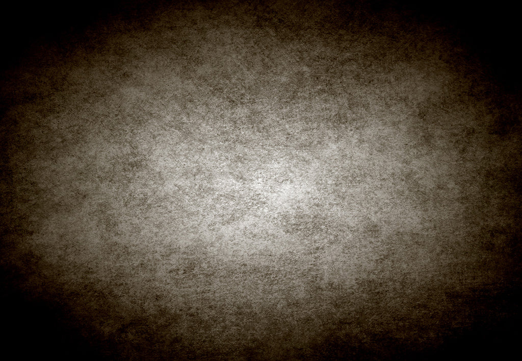 Dark Brown Bright Center Abstract Backdrop for Photo