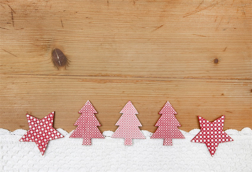 Christmas Grey Wood Photography Backdrop Xmas Background
