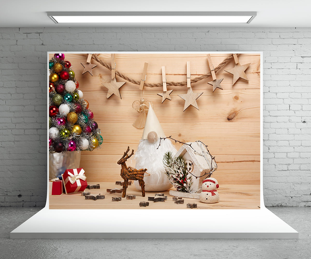 Christmas Photography Backdrop for Home Decor