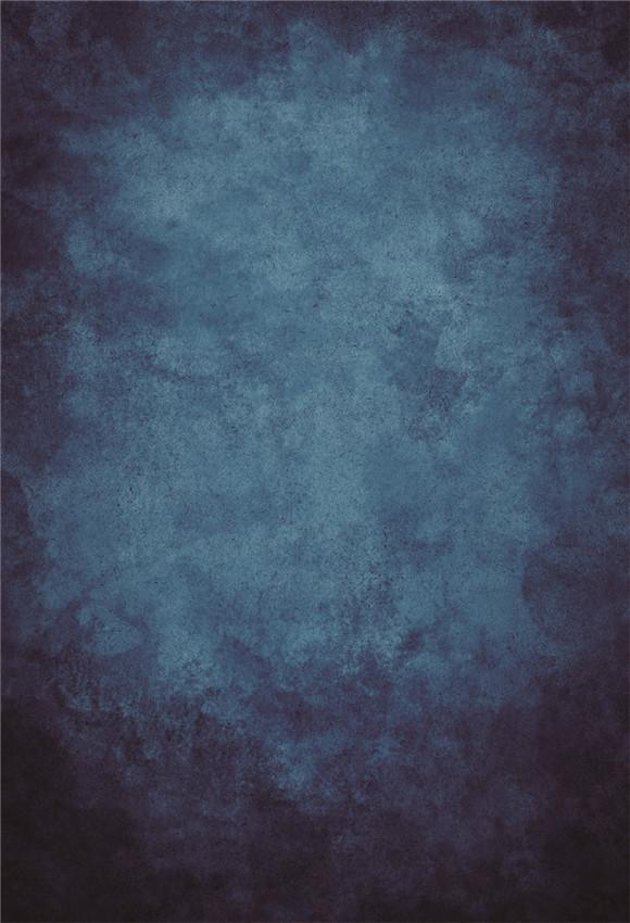 Dark Ink-blue Abstract Texture Photography Backdrops