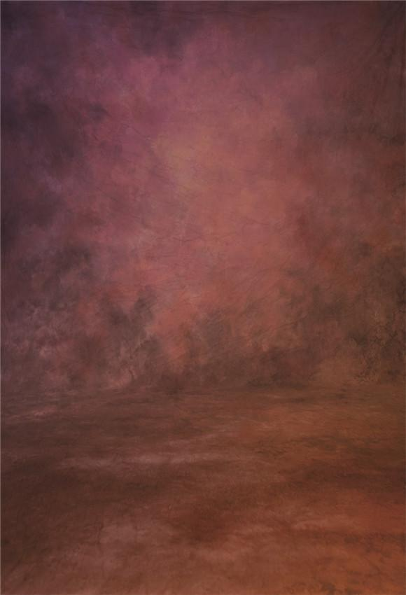 Rust Red Abstract Photography Backdrops for Photo Studio