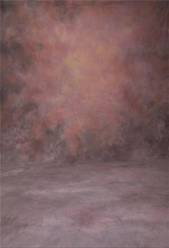 Red Rust Abstract Texture Photography Backdrop Prop