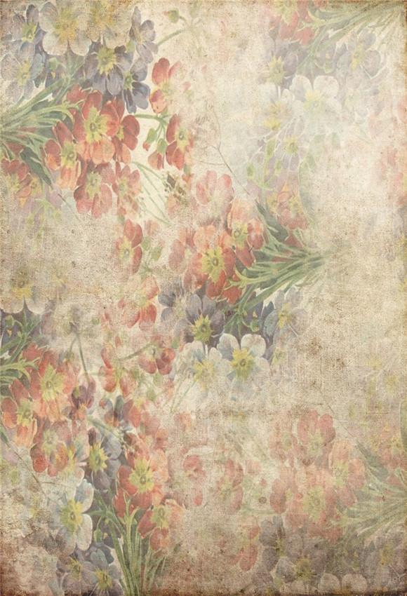 Abstract Flowers Abstract Photo Studio Backdrops
