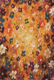 Vintage Painting Flower Microfiber Backdrop