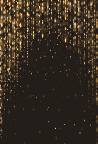 Black Gold Glitter Backdrops for Party