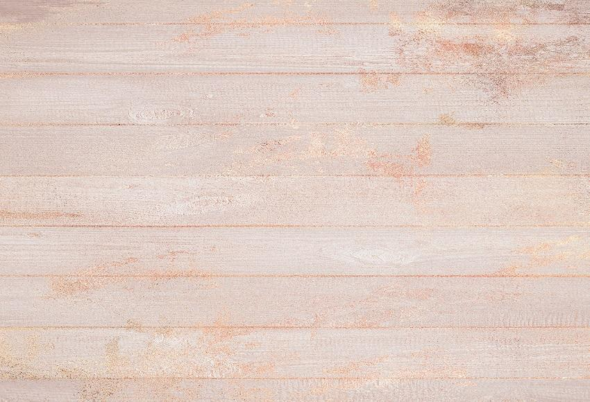 Rose Gold Glitter Wood Wall Photography Backdrop for Studio