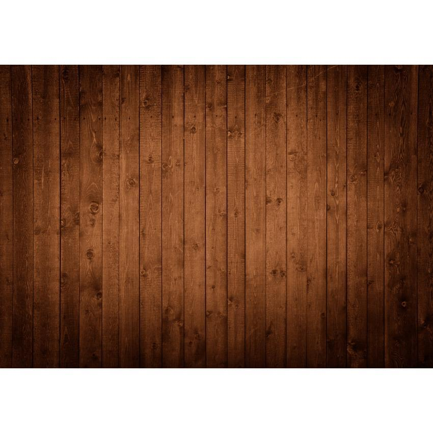 Chocolate Brown Wooden Floor Texture Backdrop for Photo Booth