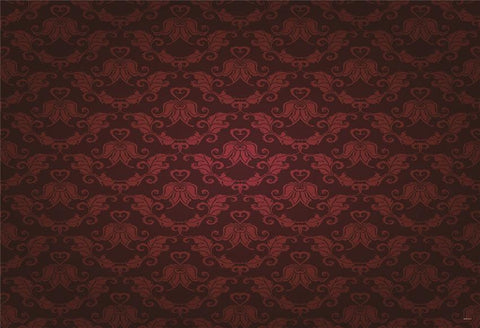 Burgundy Gilding Texture Backdrop for Studio Prop