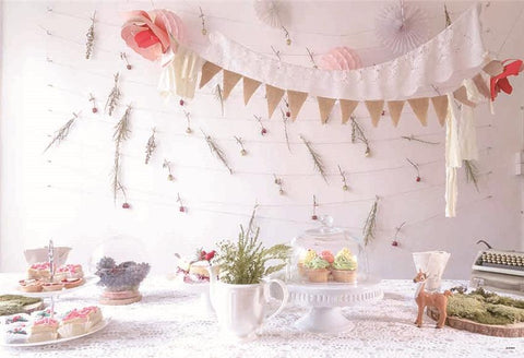 Baby Show Rose Backdrop for Party