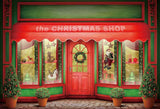 The Christmas Gift Shop Backdrops for Photos
