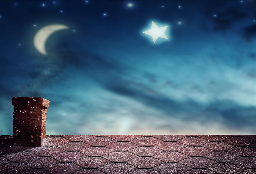 Night of Sky Shiny Star Backdrop for Photography Prop
