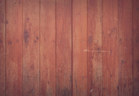Vintage Red Wood Photo Booth Prop Backdrops