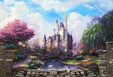 Dream Castle Photography Backdrop for Kids Fairy Tale Princess