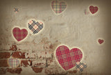 Vintage Lattice Valentine Backdrops for Photography Prop