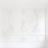 White Art Texture Wall Photo Booth Prop Wedding Backdrops for Photos