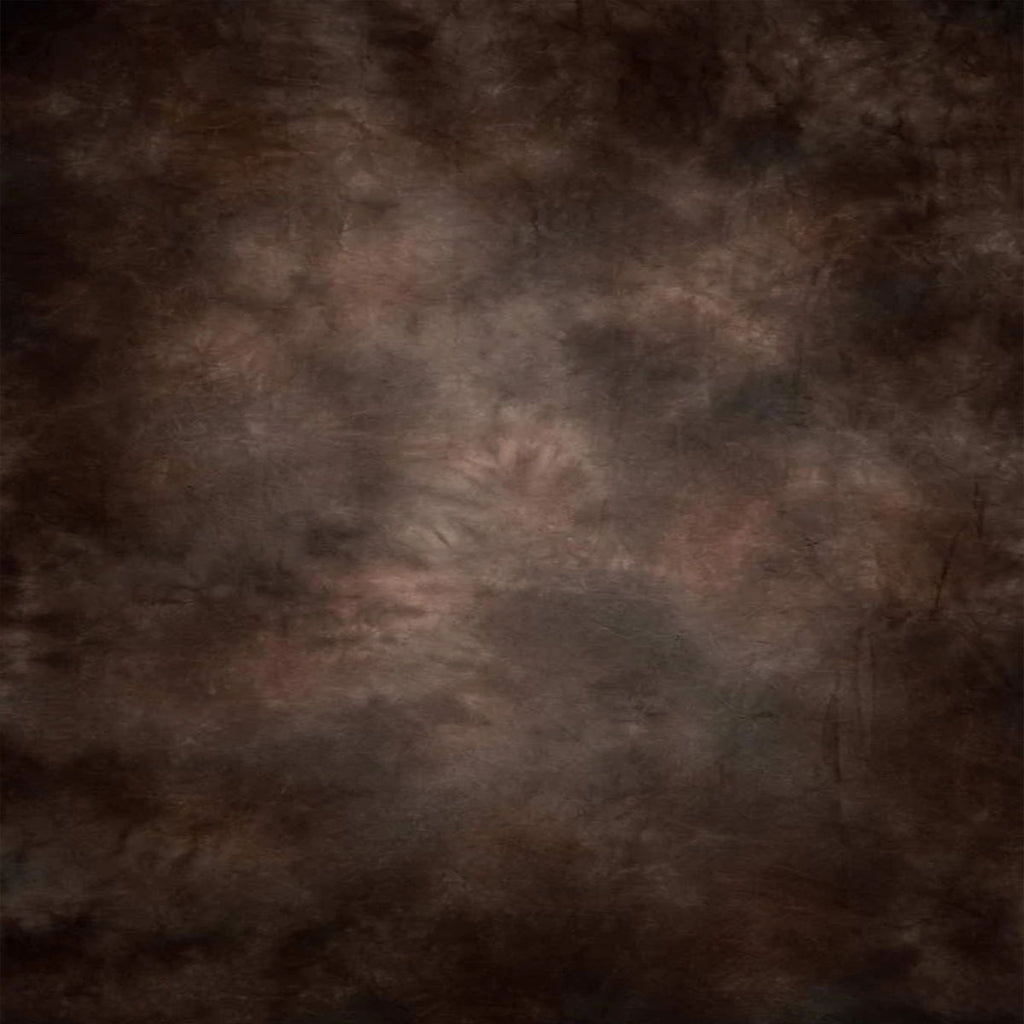 Dark Brown Abstract Mottled Photo Studio Backdrops