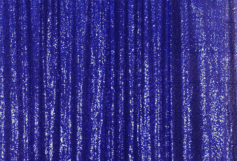 Royal Blue Sequins Fabric Photography Backdrop for Party