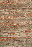 Vintage Brick Photography Fabric Backdrop for Party