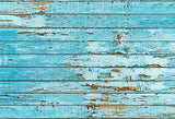 Vintage Blue Wood Wall Photo Studio Backdrops for Photographer
