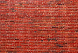 Red Brick Wall Retro Backdrop for Photo Studio
