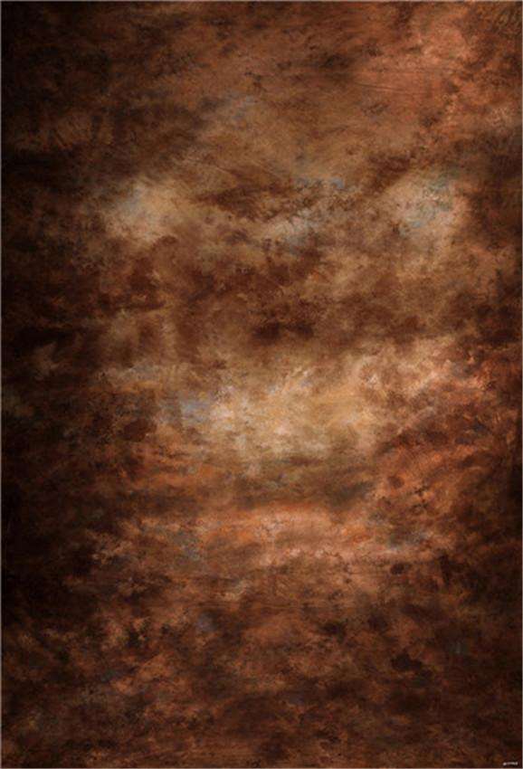 Dark Brown Abstract Backdrop for Photo Studio Prop