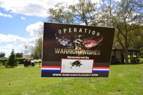 Operation Warrior Wishes Donation