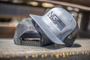 NGL Thin Blue Line Snapback Hat