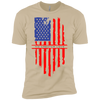 NGL American flag Premium Short Sleeve T-Shirt