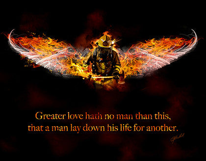 No Greater Love (Fireman) - No Greater Love Art  - 1