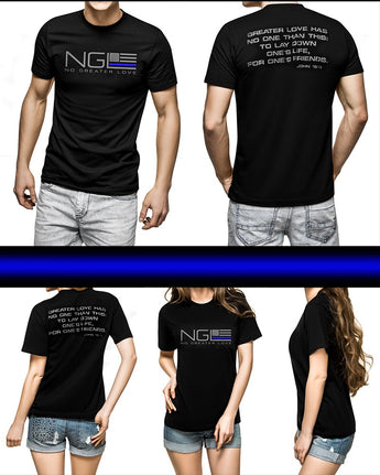 NGL Thin Blue Line T-Shirt
