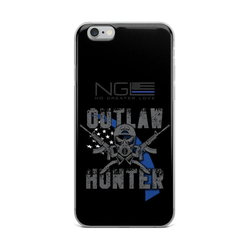 OUTLAW HUNTER No Greater Love iPhone Cases