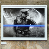 policeman law enforcement art print