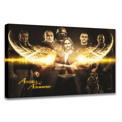 Angels of the Airwaves (Dispatcher) - Wrapped Canvas