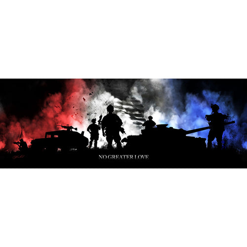 Colors of Freedom - Wrapped Canvas