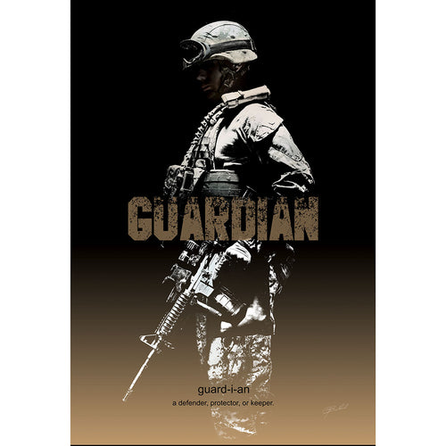 Guardian - Wrapped Canvas