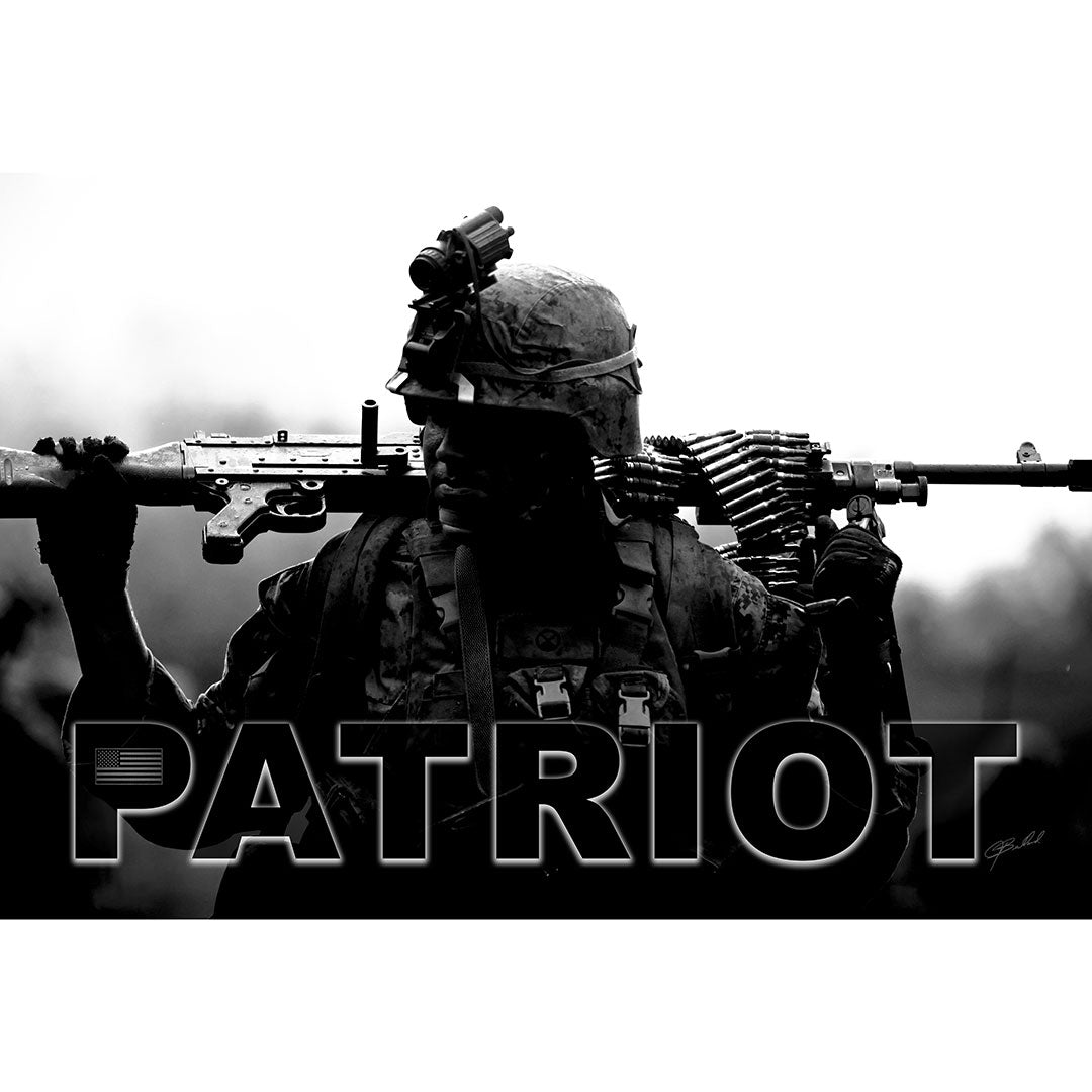 Patriot - Metal Art