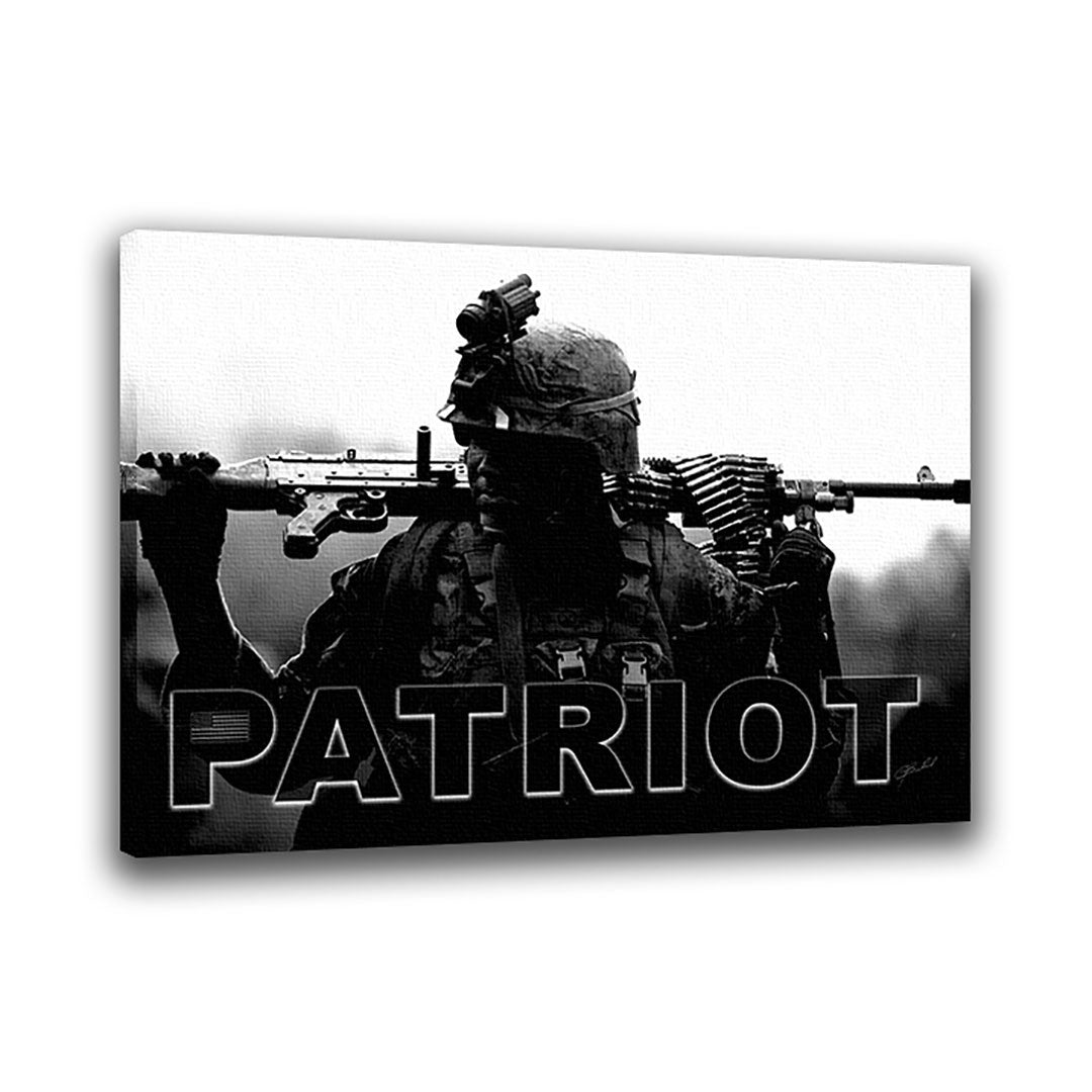 Patriot - Wrapped Canvas