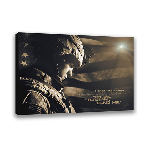 Military Rescue - Wrapped Canvas
