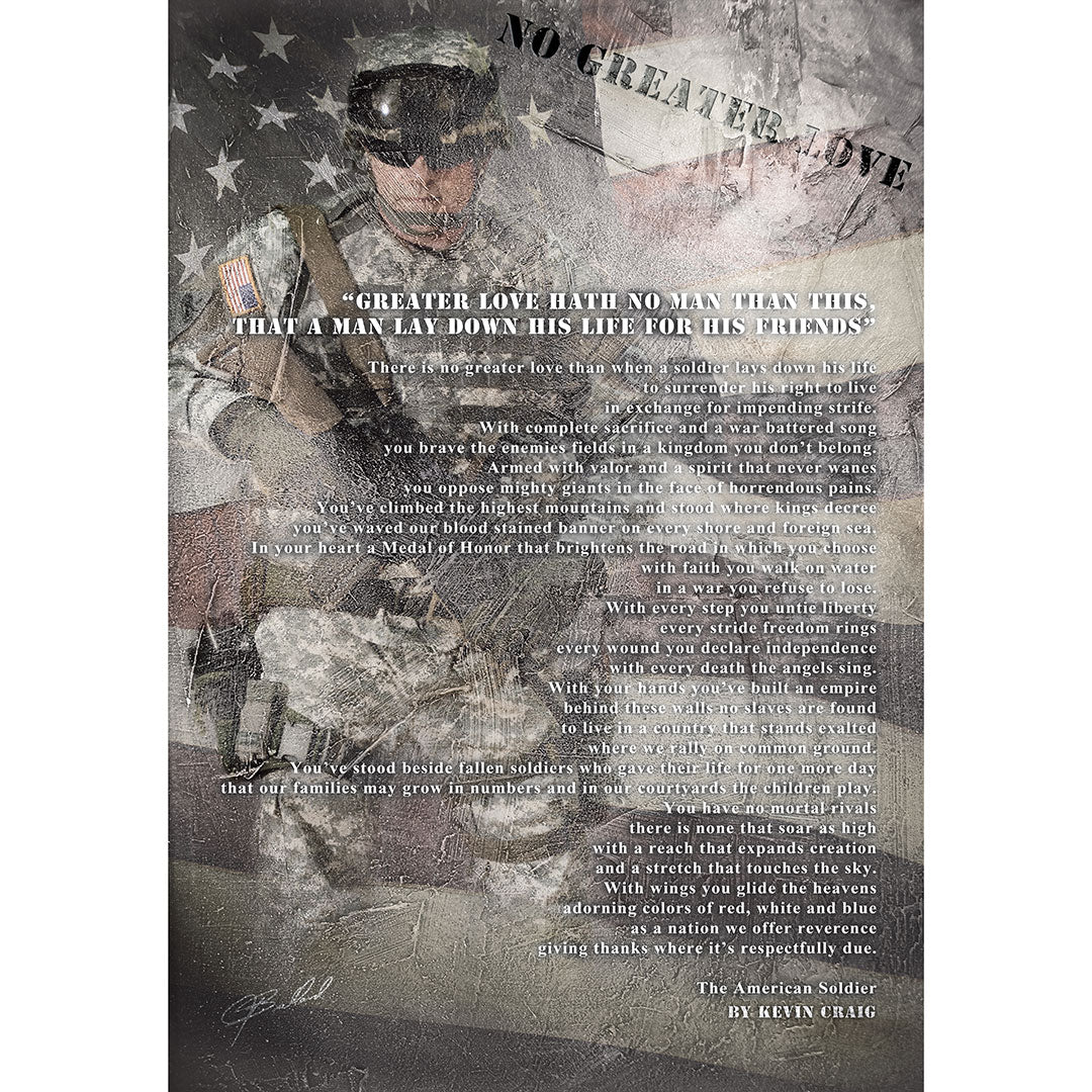 Stand & Salute - Wrapped Canvas