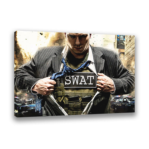 Answering The Call (S.W.A.T.) - Wrapped Canvas